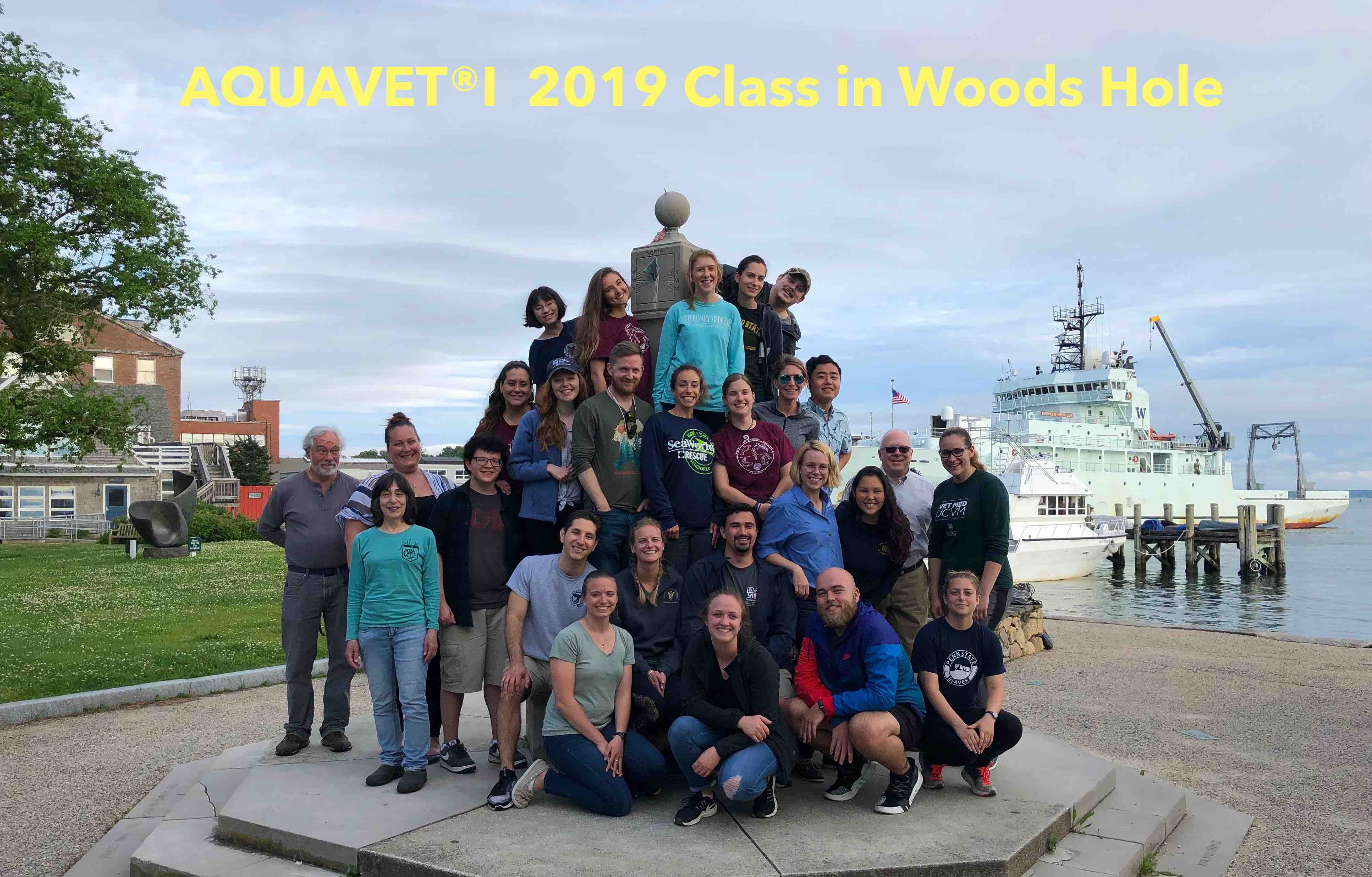 Aquavet I 2019 Class in Woods Hole Picture