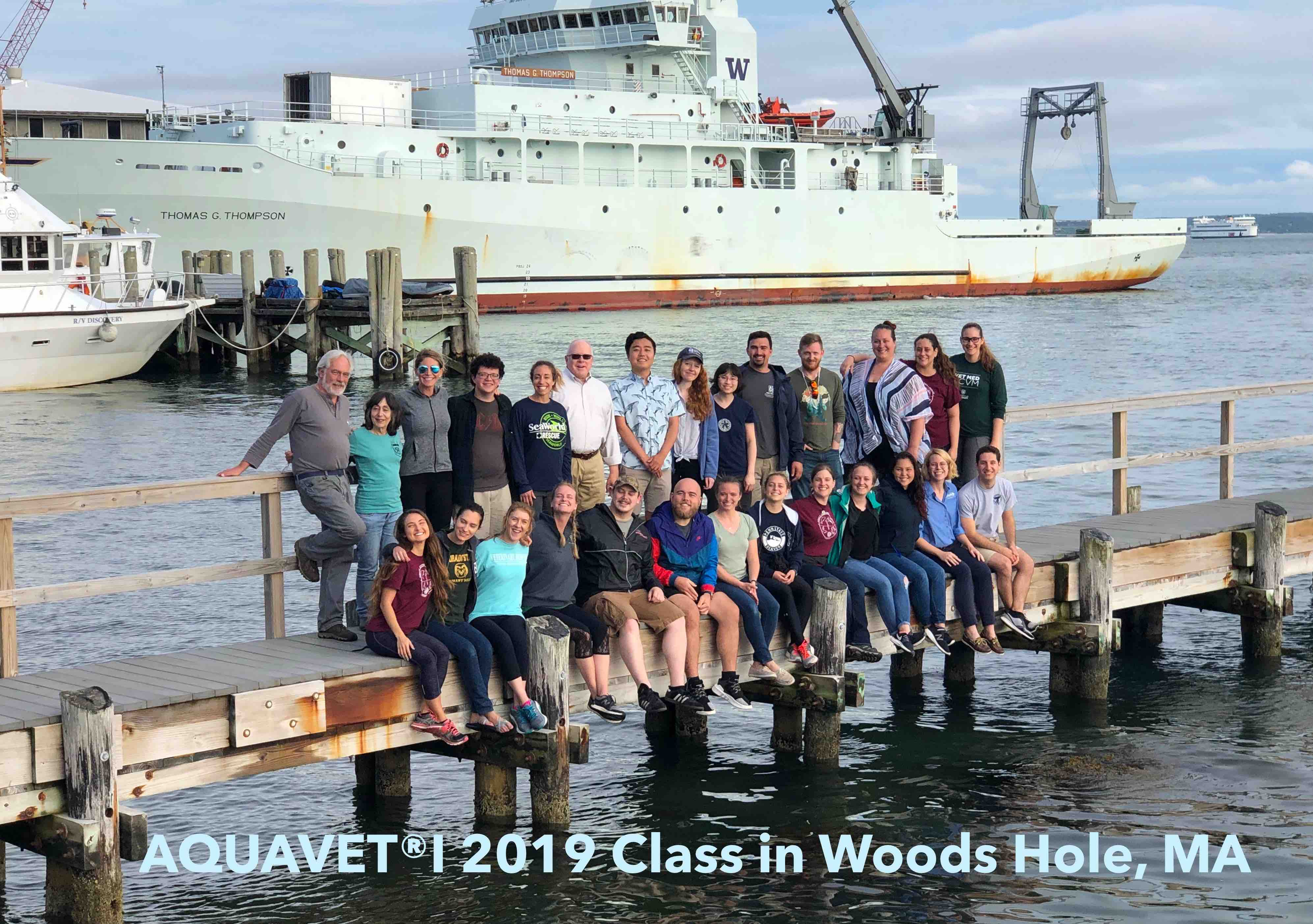 Aquavet I 2019 Class in Woods Hole Picture 2