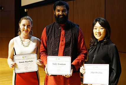 Three Minute Thesis competition winners