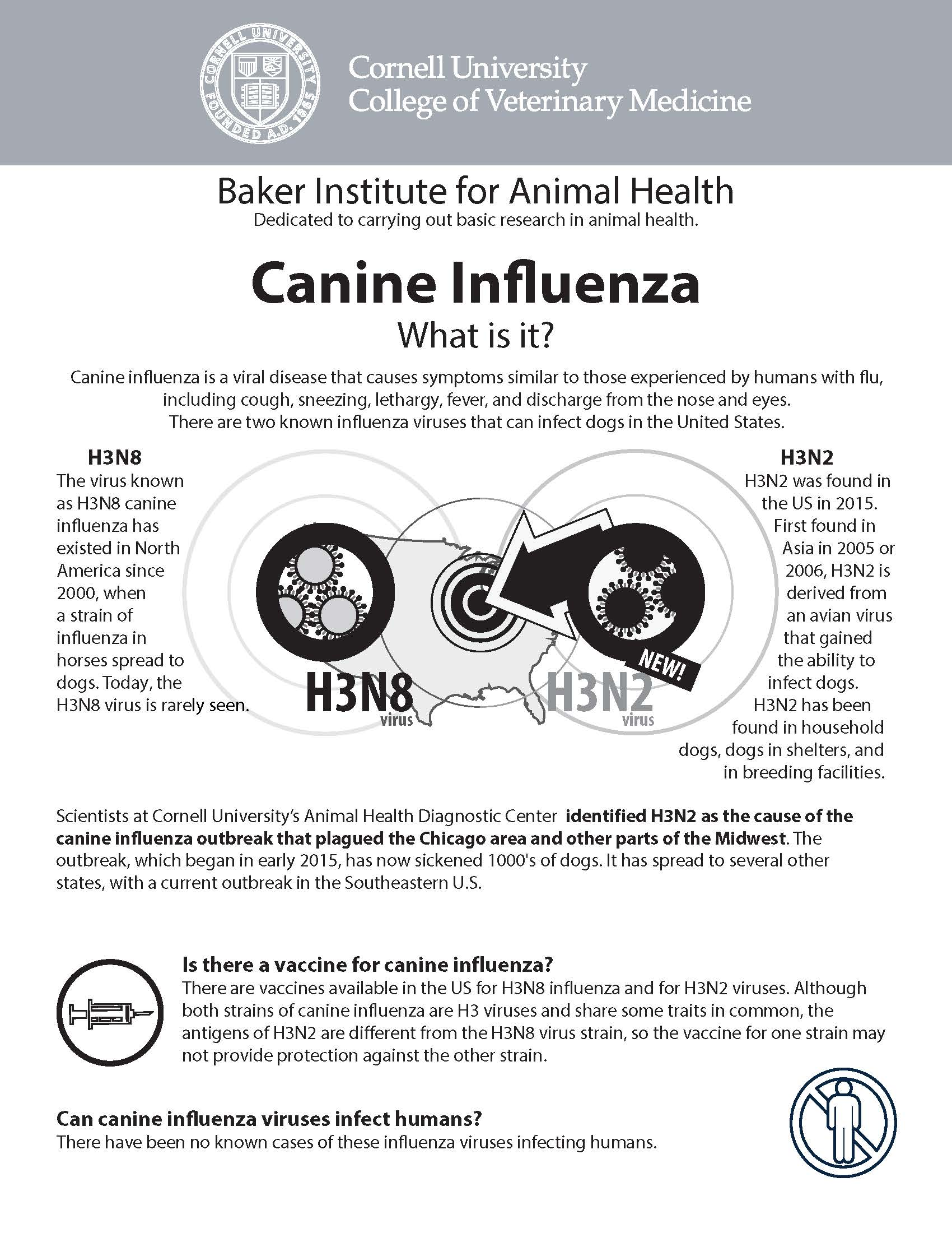 2017 Canine Influenza Fact Sheet Pg 1