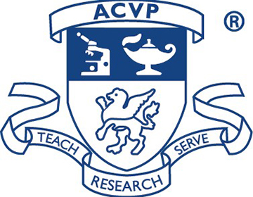 American College of Veterinary Pathologists logo