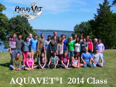 AQUAVET I 2014 class photo