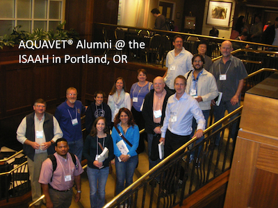 AQV Alums at ISAAH 2014
