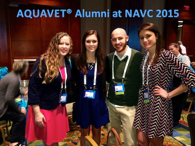 AQUAVET Alumni at NAVC 2015 Meeting