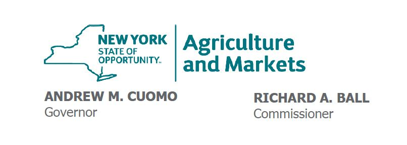 NYS Agriculture and Markets Logo