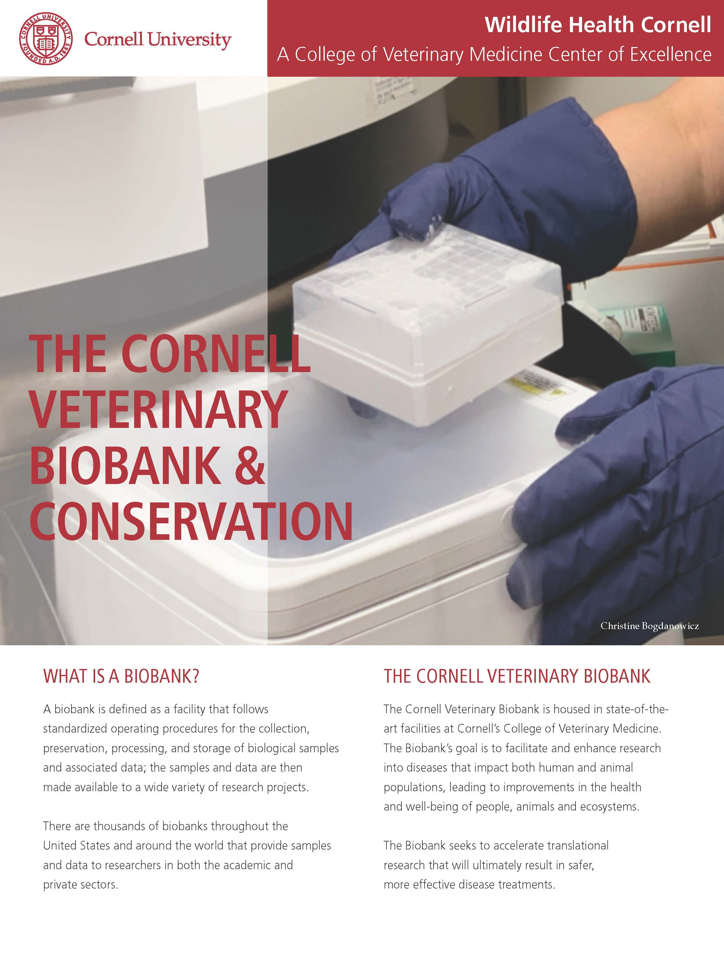 Biobank and conservation wildlife article cover