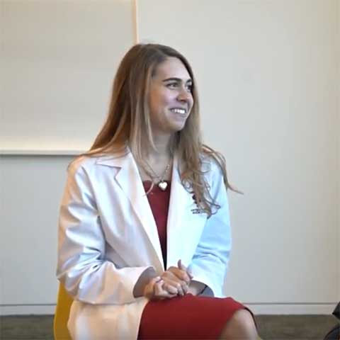 Alumni interview following White Coat 2018