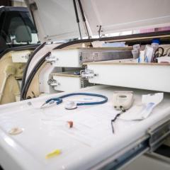 Ambulatory truck supplies