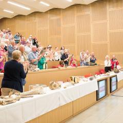 Howard Evans gives his talk during Reunion 2018