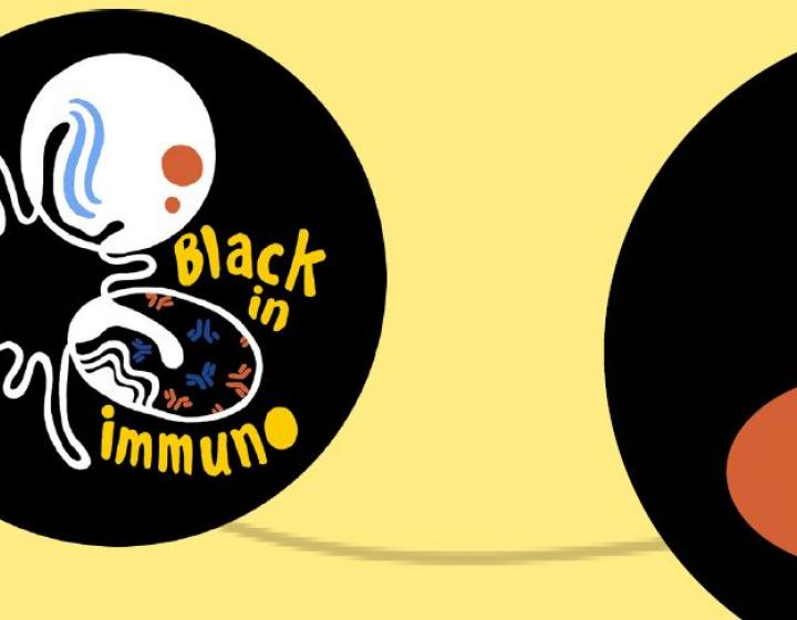 Black in Immuno logo