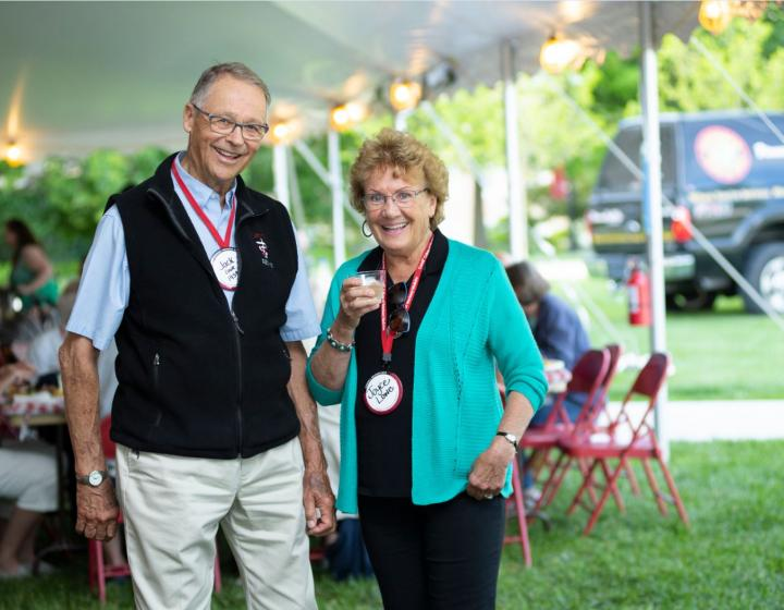Jack and Joyce Lowe at reunion 2019
