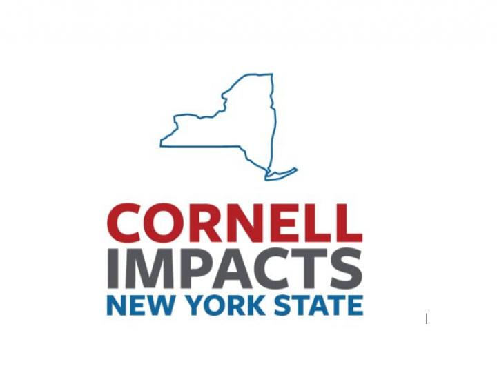 logo that reads 'Cornell Impacts New York State'