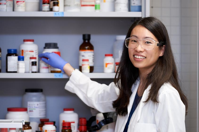 Dr. Pamela Chang.