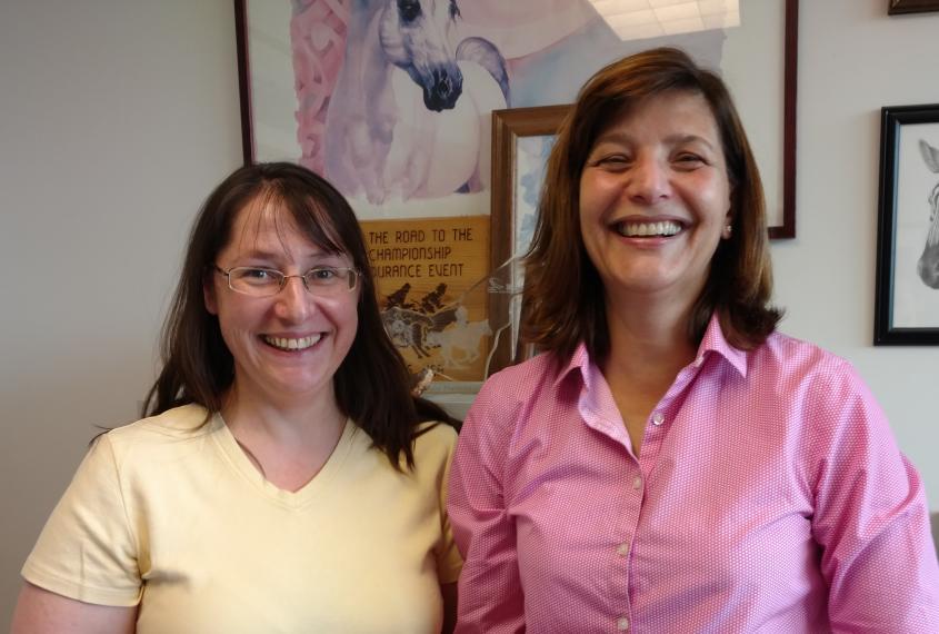 Drs. Julia Felippe and Rebecca Tallmadge