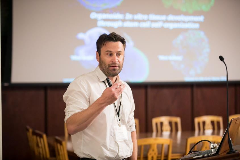 Matthias P. Lütolf gives keynote talk at the Cornell Stem Cell Retreat