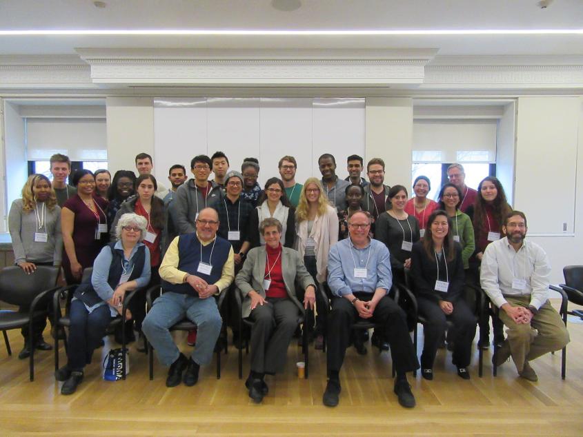 Workshop attendees pose together